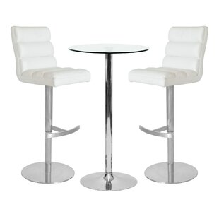 Folwell Dining Set With 2 Chairs By Wade Logan