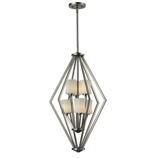 Wrought Studio Mchale 6-Light Geometric Chandelier