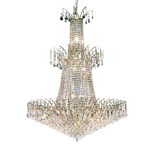 Everly Quinn Phyllida Contemporary 18-Light Empire Chandelier