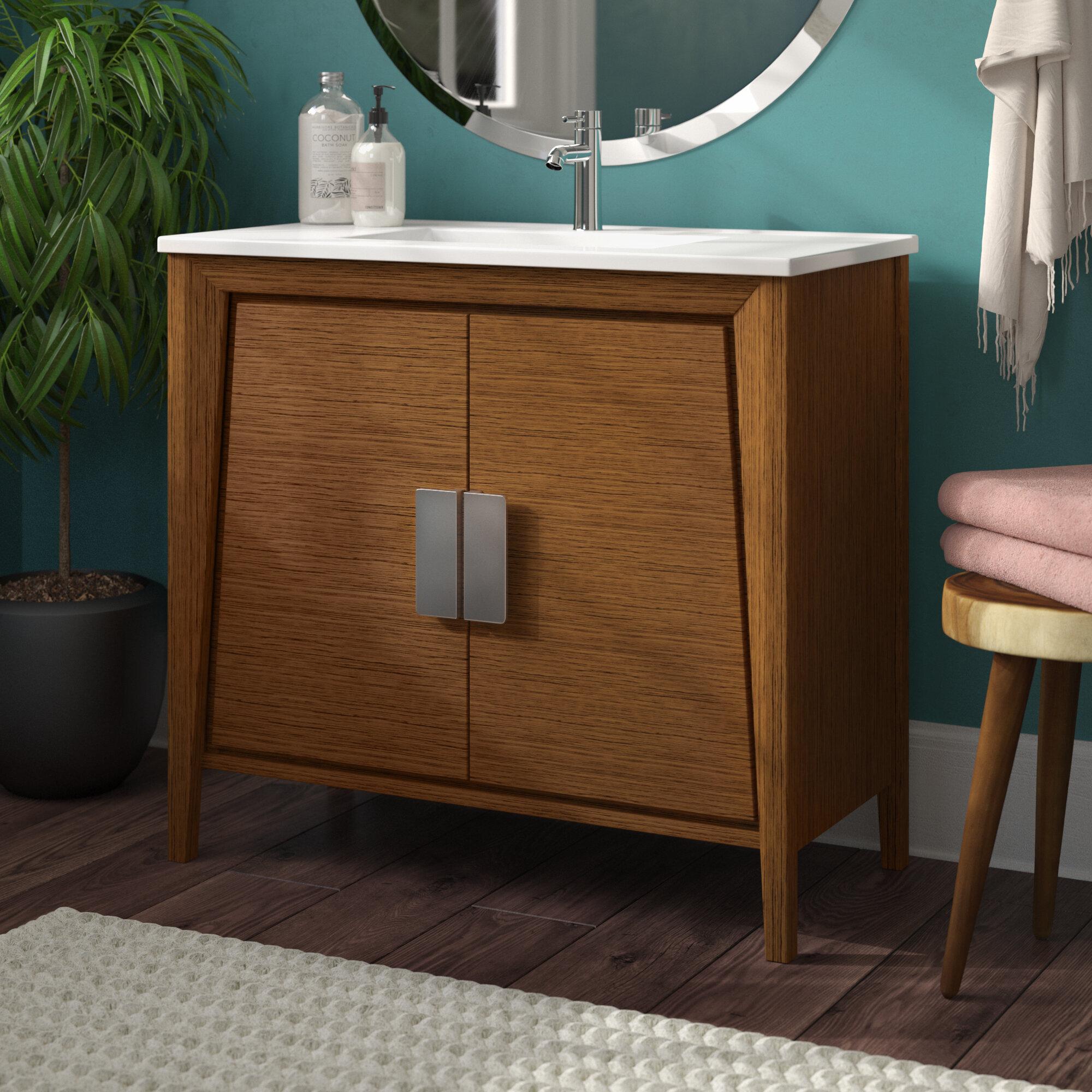 Langley Street Emerson 35 Single Bathroom Vanity Set Reviews