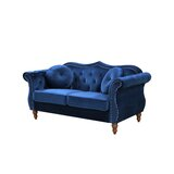 Telles Chesterfield Loveseat by Mercer41