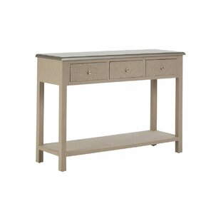 Miser 3 Drawer Console Table By Bloomsbury Market