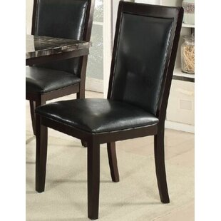Harnden Upholstered Dining Chair (Set of 2) Alcott Hill