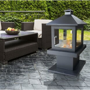 Cheviot Metal Bioethanol Gas Outdoor Fireplace By Sol 72 Outdoor