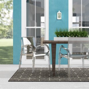 Top Reviews Christiano Stacking Patio Dining Chair (Set of 4) by Wrought Studio Reviews (2019) & Buyer's Guide