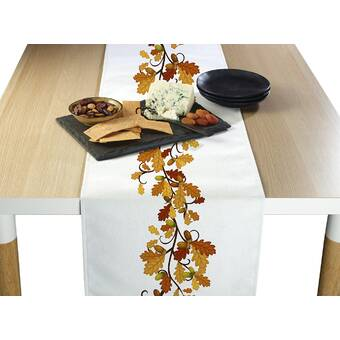 Red Barrel Studio Terada Cotton Table Runner Reviews Wayfair