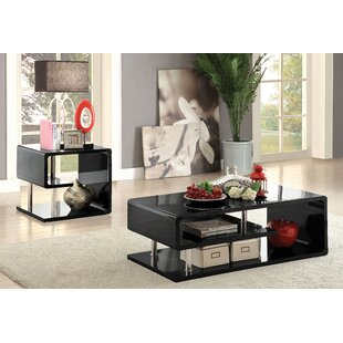 Tomas 2 Piece Coffee Table Set