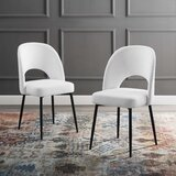 Colucci Upholstered Side Chair (Set of 2) by Everly Quinn