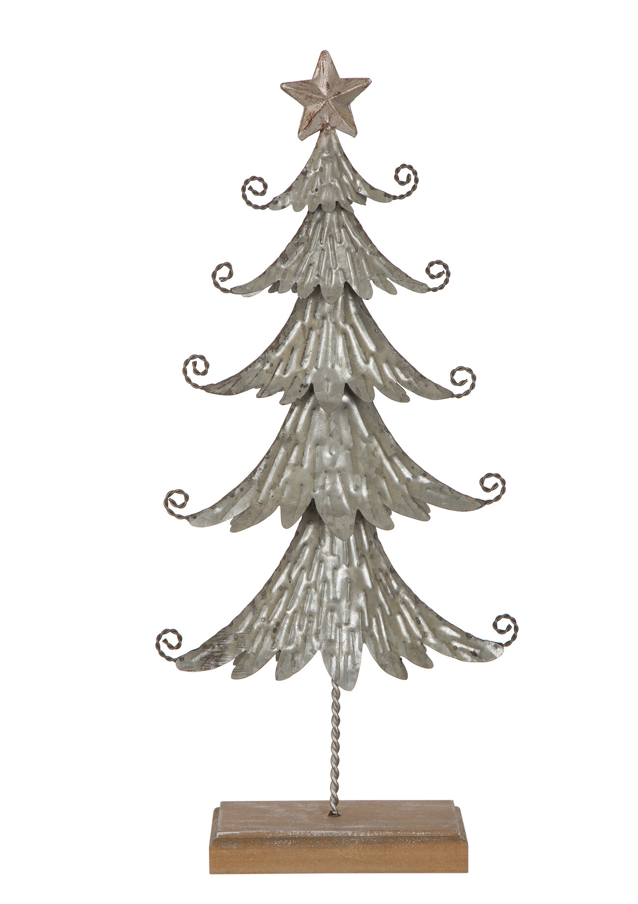 The Holiday Aisle Metal Table Tree