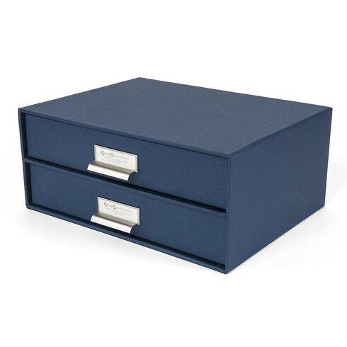 bigso birger 2 drawer paper file box | wayfair paper file box