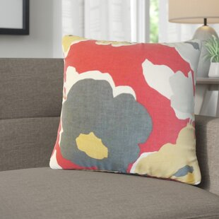 Janae Floral Cotton Throw Pillow (Set of 2)