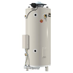 A.O. Smith BTR-197 Commercial Tank Type Water Heater Nat Gas 100 Gal Master-Fit 197,000 BTU Input
