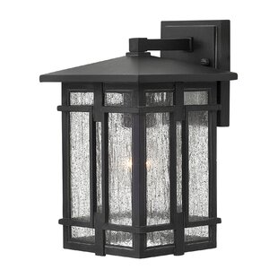 Mission shaker outdoor wall lighting youll love wayfair tucker led outdoor wall lantern by hinkley lighting workwithnaturefo