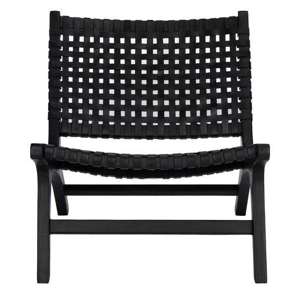 Excellent Leather Woven Chair Wayfair Inzonedesignstudio Interior Chair Design Inzonedesignstudiocom
