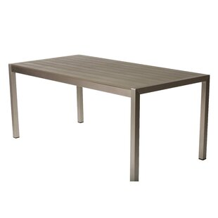 Goodfellow Metal Dining Table by Orren Ellis