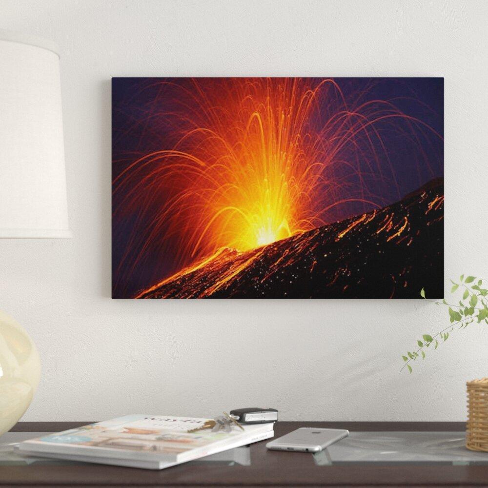 East Urban Home Vulcanian Eruption Of Anak Krakatau Volcano
