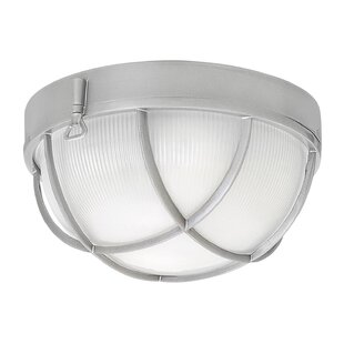 Washer 2-Light Outdoor Bulkhead Light