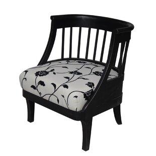 Carolina Accents Tiffany Fabric Barrel Chair