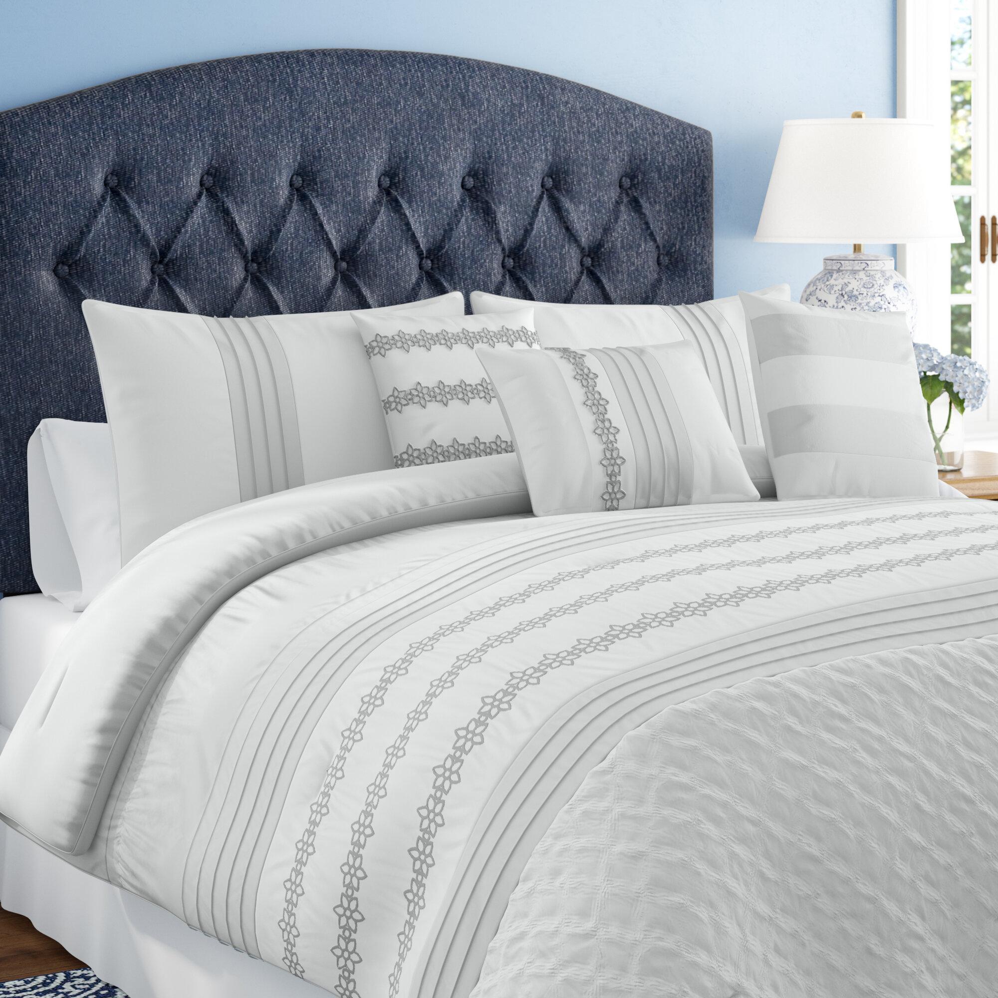 House Of Hampton Ferrin Luxury Comforter Set Reviews Wayfair