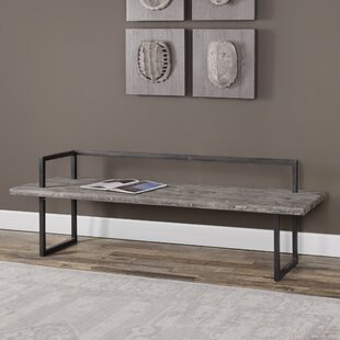Edgewood Wood Bench by Union Rustic