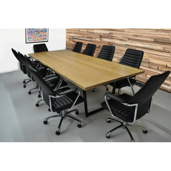 Brayden Studio® Radner 11 Piece Rectangular Conference Table Set