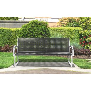Skyline ArchTec Stainless Steel Garden Bench by Commercial Zone