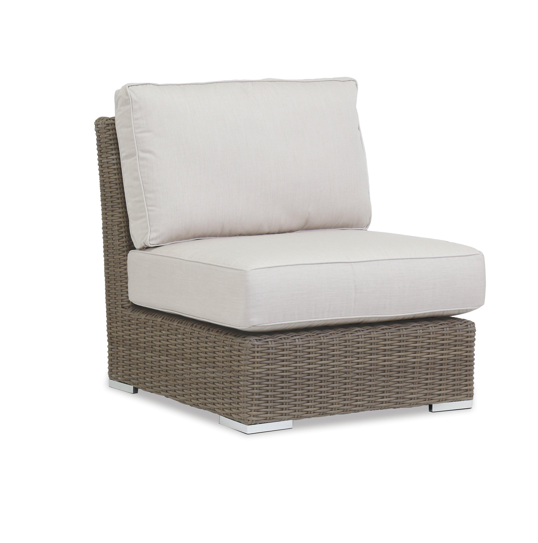 Birch Lane Lubin Patio Chair With Sunbrella Cushion Wayfair