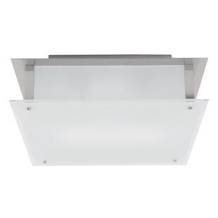 Price comparison Retha 1-Light Outdoor Flush Mount By Ivy Bronx