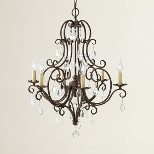 House of Hampton Esse 6-Light Candle Style Chandelier