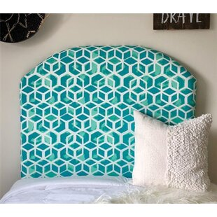 Zoomie Kids Housley Twin/Twin XL UpholsteredPanel Headboard in , Arched