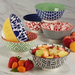 Deep Cereal Bowls Set