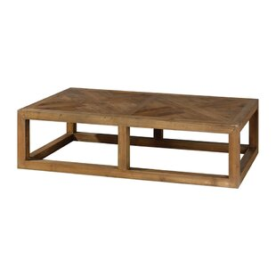 Robinson Coffee Table by Loon Peak Spacial Price