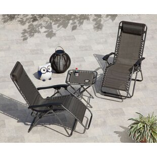 SunTime Outdoor Living Gravity Chaise Lounge