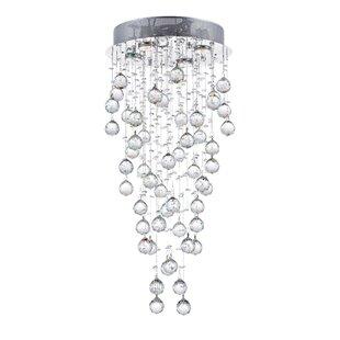 CWI Lighting Rain Drop 4-Light Flush Mount