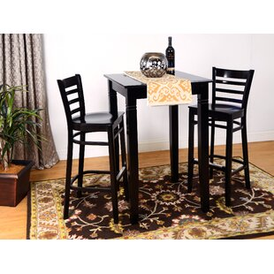 Eakin Ladderback 3 Piece Pub Table Set