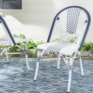 Clairlea Stacking Patio Dining Chair (Set of 2)