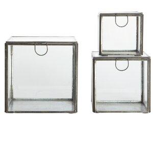 3-tlg. Aufbewahrungsboxen-Set von House Doctor
