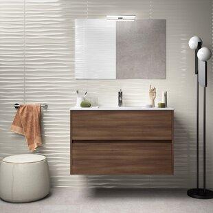 Kardos 910mm Wall Hung Single Vanity Unit By Brayden Studio