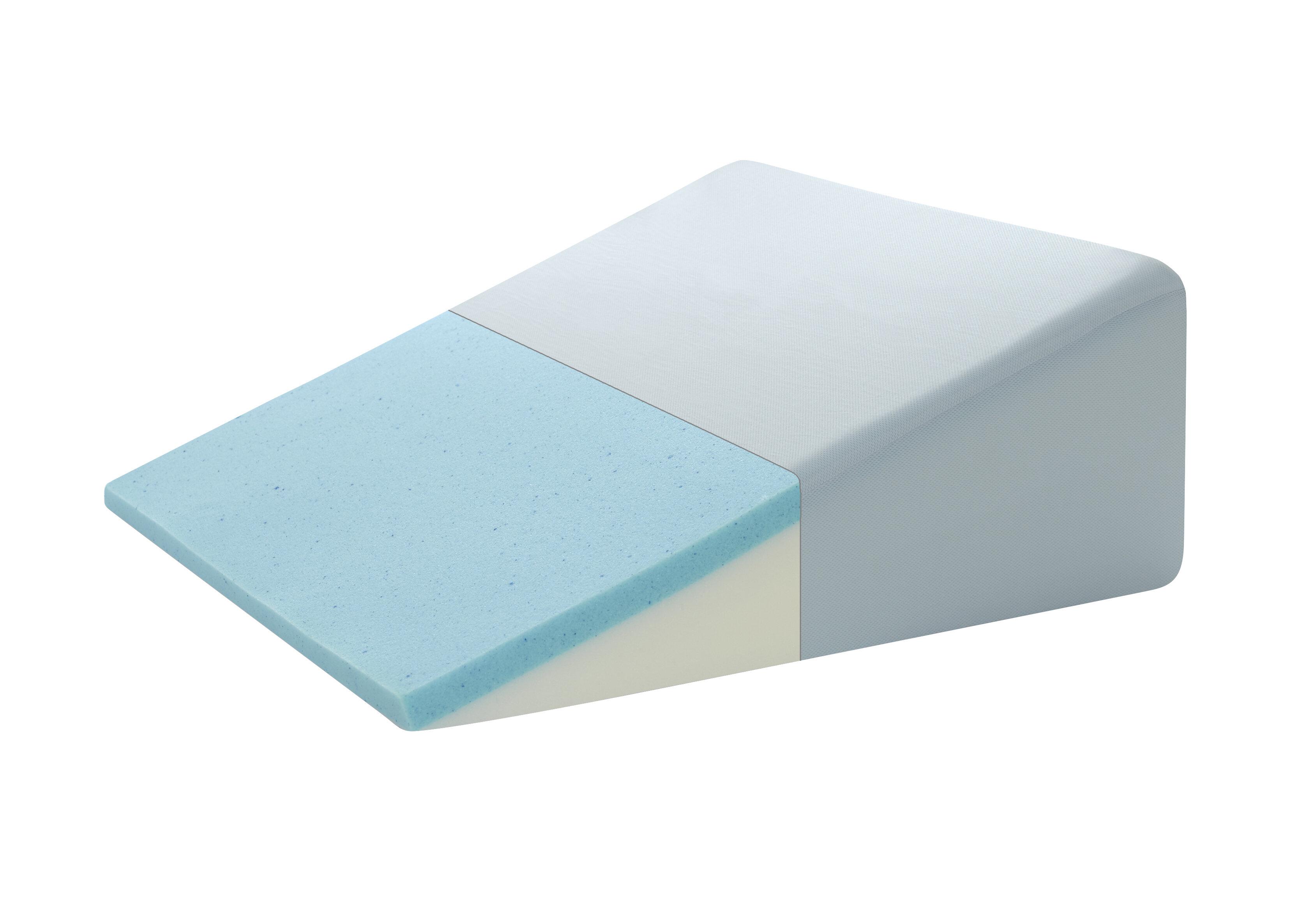 Broyhill Gel Memory Foam Adjustable Sleep Wedge Pillow Reviews Wedges On02 Wayfair