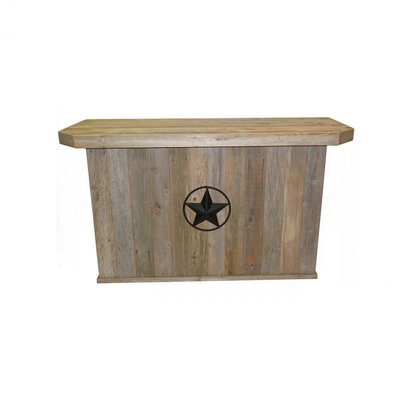 Holeman Rustic Home Bar by Millwood Pines Cheap