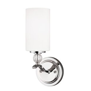 Bibeau 1-Light Bath Sconce by Lark Manor