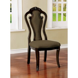 Duenas Upholstered Dining Chair (Set of 2..