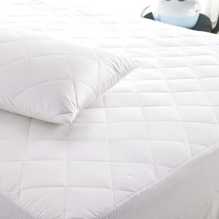 Luxury Quilted Hypoallergenic Mattress Protector By Symple Stuff