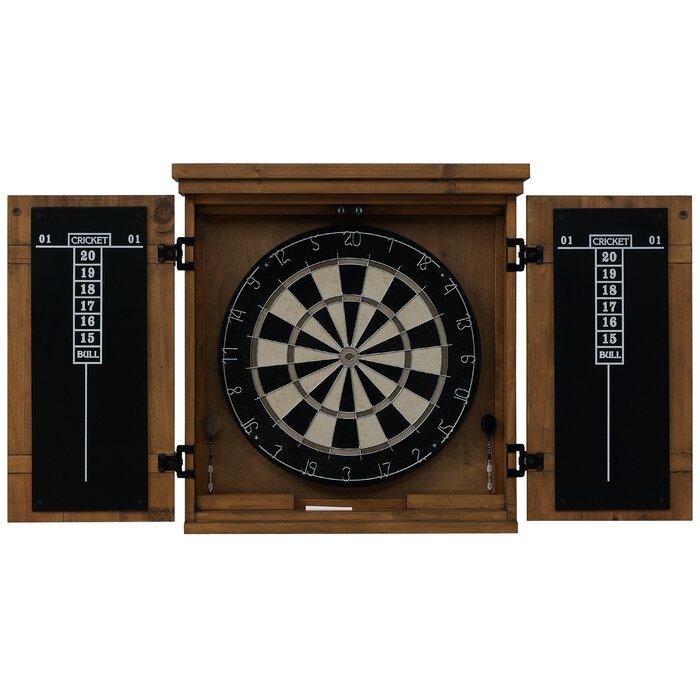Ordinaire Gateway Dartboard Cabinet Set