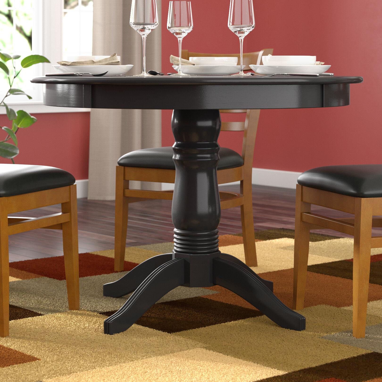 Rehausser Une Table De Salle A Manger table de salle à manger en bois massif oneill