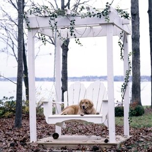 Fanback Porch Swing by Uwharrie Chair