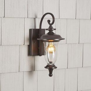 Quarry 1-Light Outdoor Wall Lantern by Birch Lane? Heritage