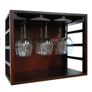 Stackable Tabletop Wine Glass Rack by Epicureanist