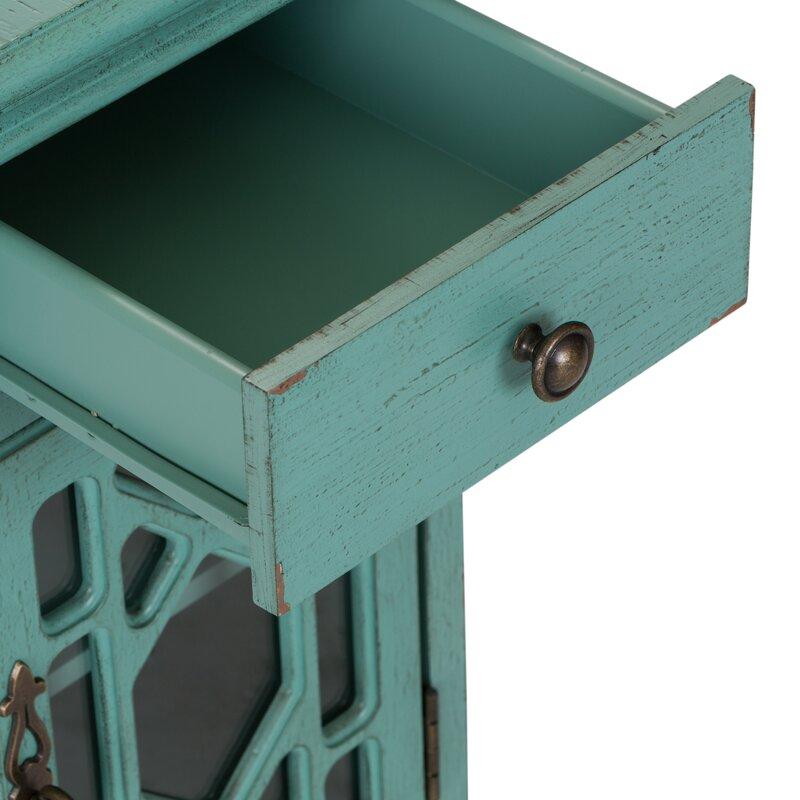 Bungalow Rose Frida 1 Drawer 1 Door Accent Cabinet Wayfair