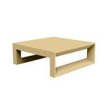 Frame Sun Plastic Coffee Table